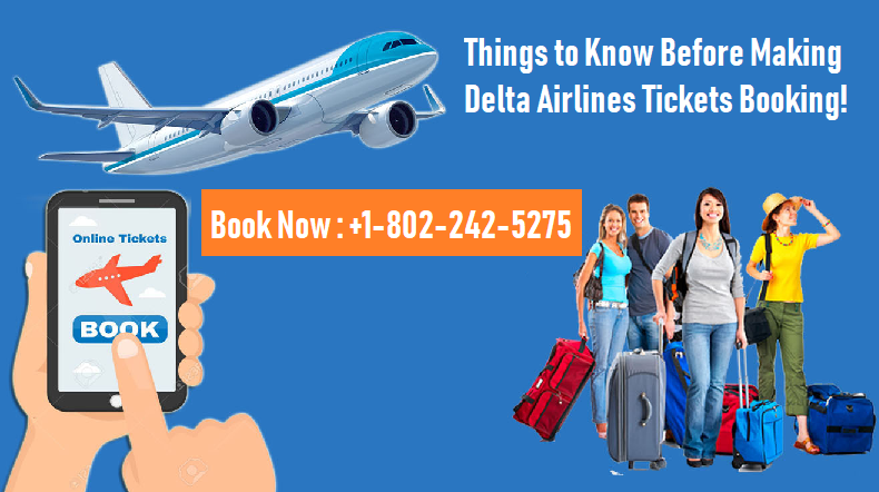 Delta Airlines Tickets Booking