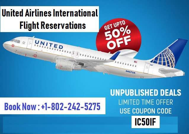United Airlines International Flights Reservations
