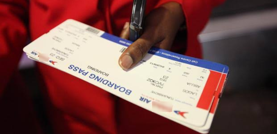 Boarding Pass Delta Airlines