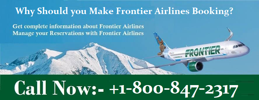 Make Frontier Airlines Booking