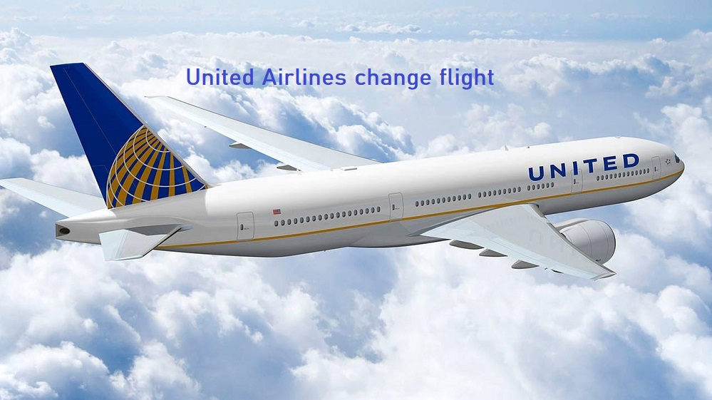United Airlines change flight